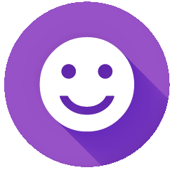 smiley-purple